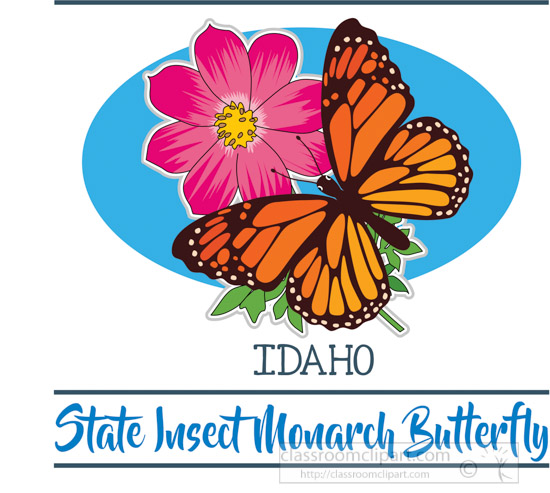 idaho-state-insect-the-monarch-butterfly-clipart-image.jpg