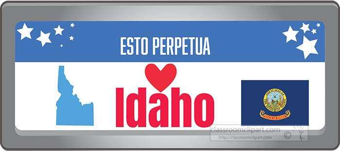 idaho-state-license-plate-with-motto-clipart.jpg
