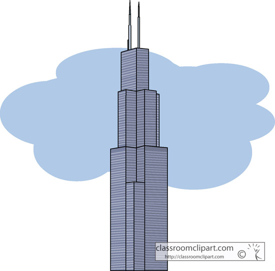 Illinois : sears_tower_chicago : Classroom Clipart