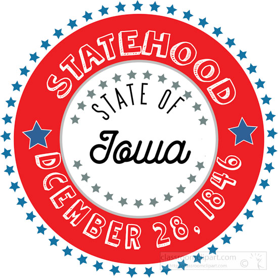 date-of-iowa-statehood-1846-round-style-with-stars-clipart-image.jpg