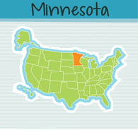 Fifty States: Minnesota Clipart - Illustrations - Minnesota Graphics