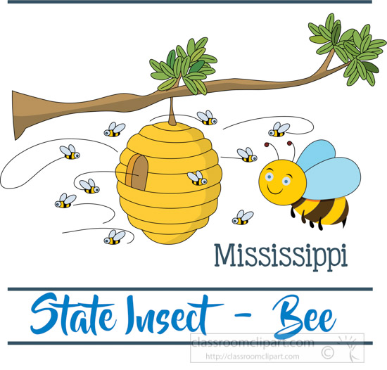 mississippi-state-insect-the-honey-bee-clipart-image.jpg