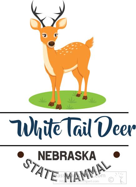 nebraska-state-mammal-white-tail-deer-clipart.jpg