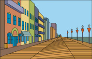 Boardwalk Clip Art