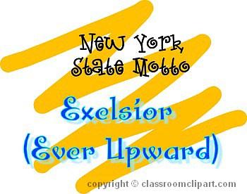 new york new york motto c classroom clipart. Black Bedroom Furniture Sets. Home Design Ideas