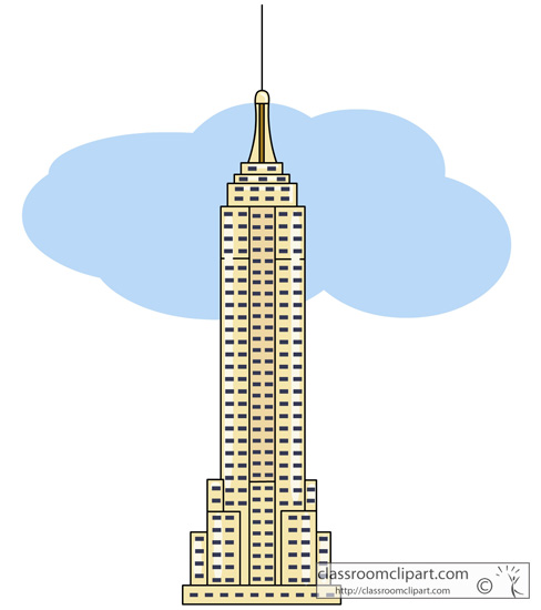 New York : empire_state_building : Classroom Clipart