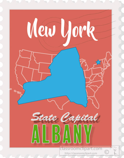 New York State Capitol Map