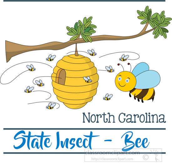 north-carolina-state-insect-the-honey-bee-clipart-image.jpg