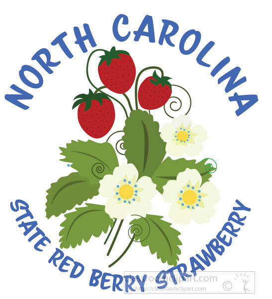 strawberry-state-red-berry-north-carolina-clipart.jpg