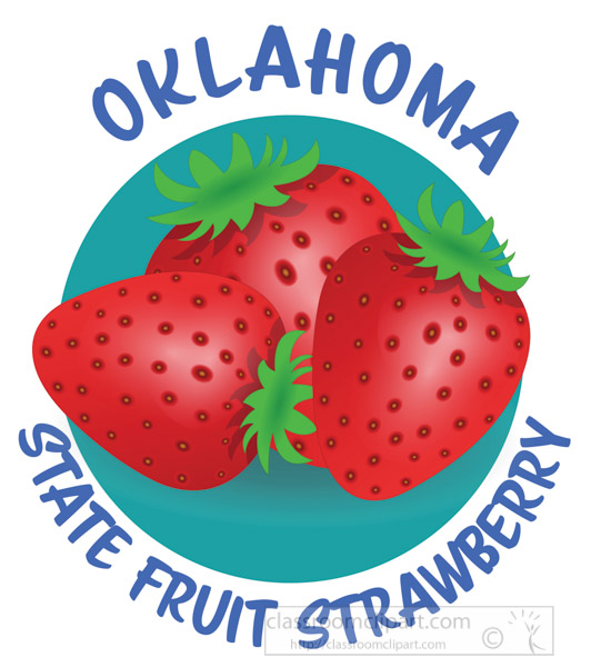 strawberry-state-fruit-oklahoma-clipart.jpg