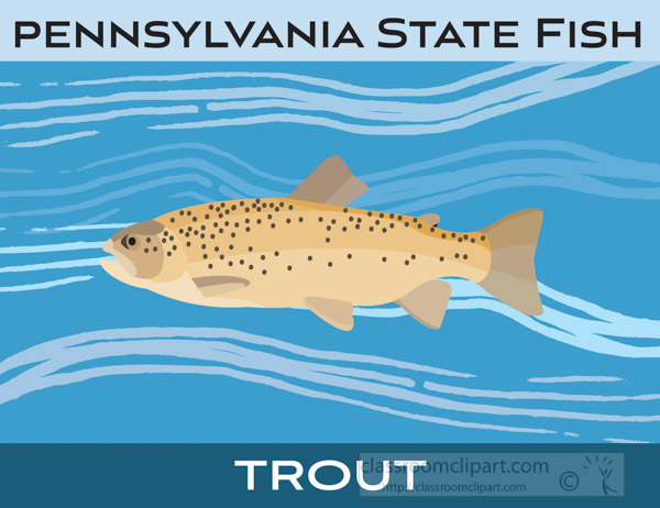 pennsylvani-state-fish-the-trout-clipart-image.jpg