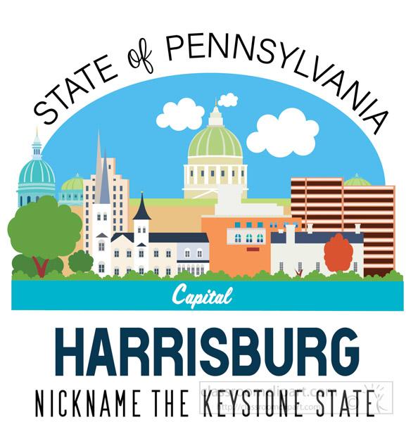 pennsylvania-state-capital-harrisburg-nickname-keystone-state-vector-clipart.jpg
