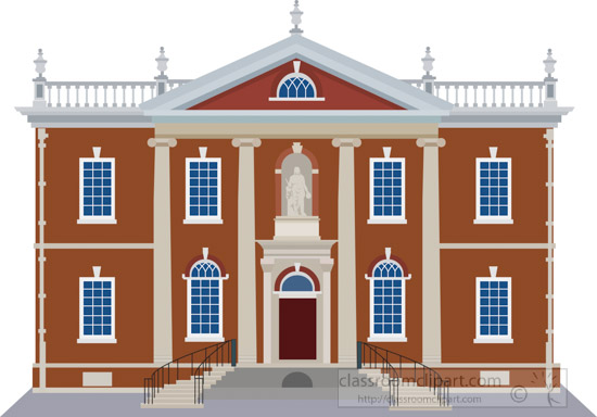 philadelphia-old-city-library-hall-with-statue-of-benjamin-franklin-clipart-image.jpg