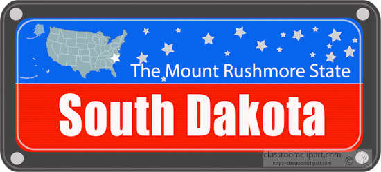 south-dakota-state-license-plate-with-nickname-clipart.jpg