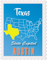 Fifty States Texas Clipart Illustrations Texas Graphics