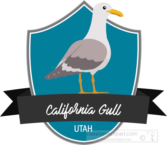 state-bird-of-utah-california-gull-clipart.jpg