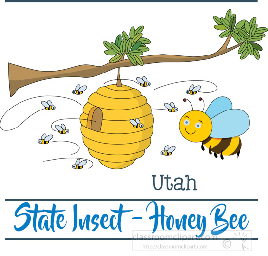 utah-insect-the-honey-bee-clipart-image.jpg