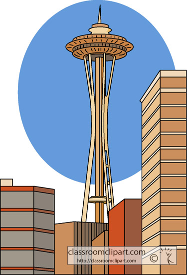 clipart of space needle - photo #29