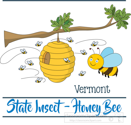 vermont-insect-the-honey-bee-clipart-image.jpg