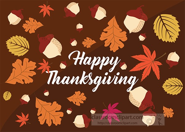 happy-thanksgiving-acorns-with-variety-fall-leaves-clipart.jpg