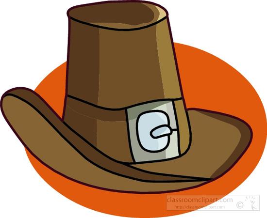 pilgrim hat clipart free - photo #33