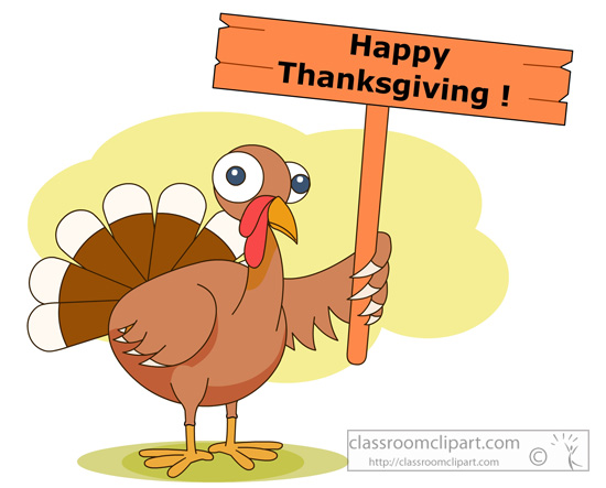 Happy thanksgiving school. Free clipart clip art