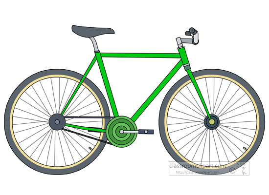 Bicycle Clipart- fix-gear-bike-clipart-5121