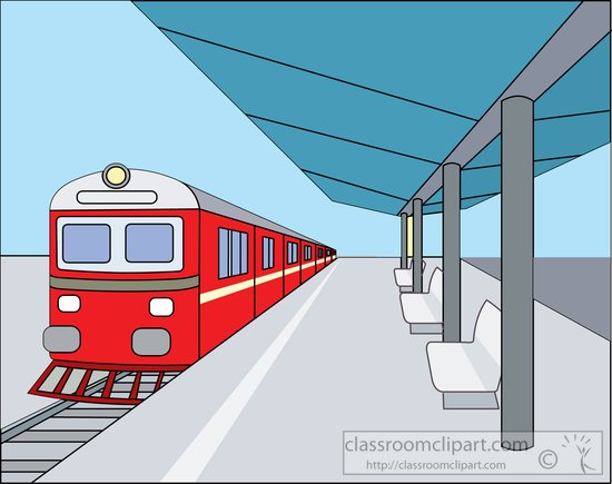 train clipart train at covered outdoor train station clipart 814788 rh classroomclipart com train station clipart free Train Station Platform
