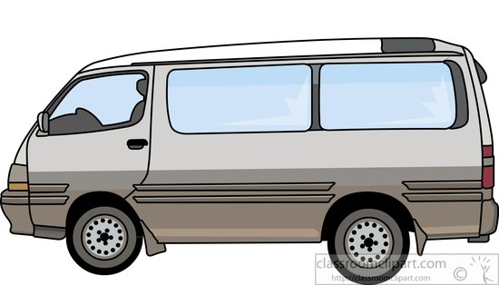 Van Clipart Truck Clipart -...