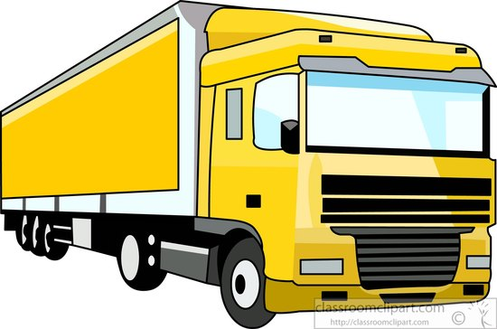 Truck Clipart- yellow-semi-trailer-truck-clipart-090855 ...