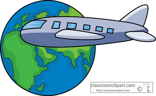 Go Back > Gallery For > Airplane Travel Clip Art