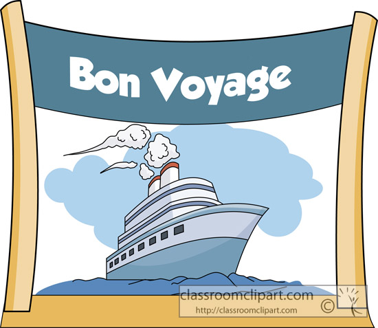 free clip art cartoon cruise ship - photo #35