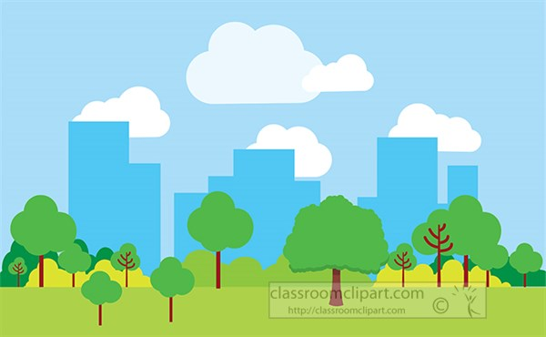 view-from-park-of-city-skyline-with-buildings-trees-clouds.jpg