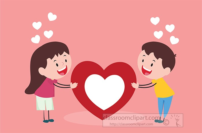girl-boy-in-love-holding-large-red-white-heart-pink-background-clipart-.jpg