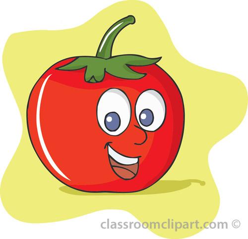 free clipart vegetables cartoon - photo #26