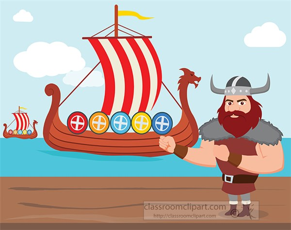 viking-on-land-looking-at-ships-in-the-sea-clipart.jpg