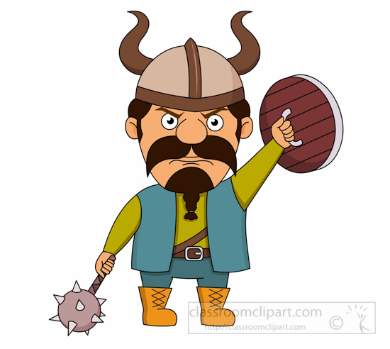 viking-with-spiked-hammer-or-flail-and-wooden-shield-clipart.jpg