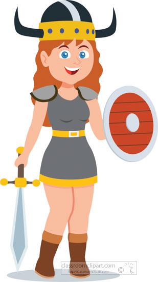 Resultado de imagem para viking woman cartoon