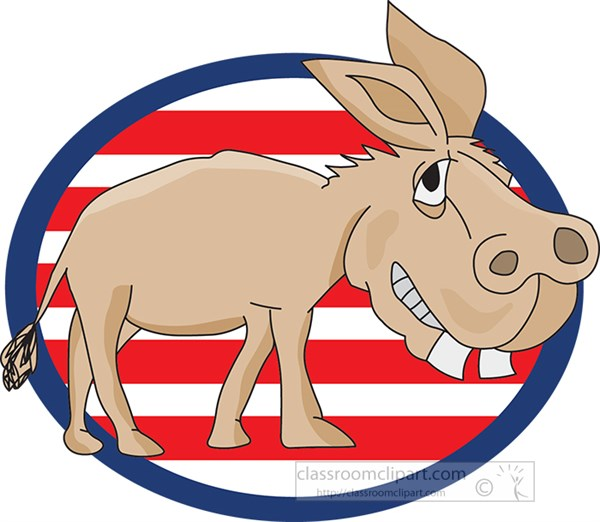 donkey-representing-democatic-party-with-red-white-blue-background.jpg