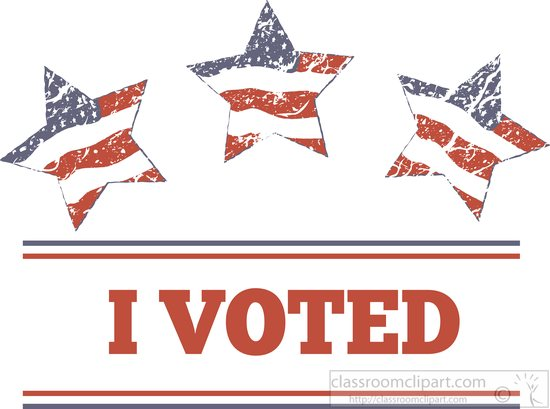 free clipart vote yes - photo #21