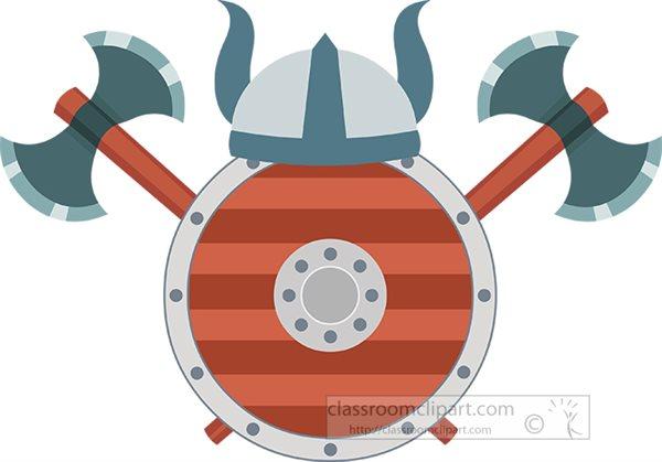 two-sided-axe-helmet-shield-weapons-vikings-clipart.jpg