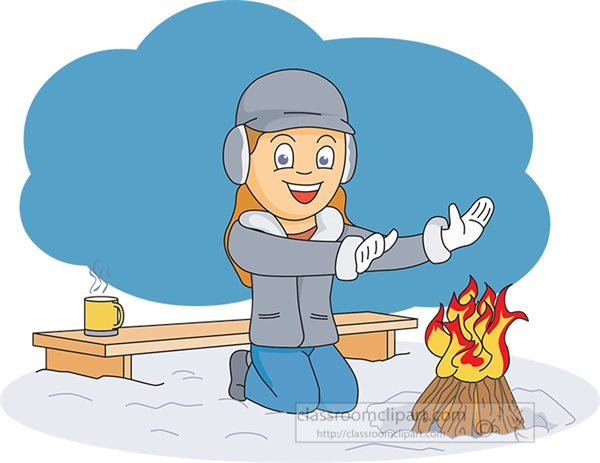 girl-outdoors-in-the-winter-snow-builds-fire-clipart.jpg