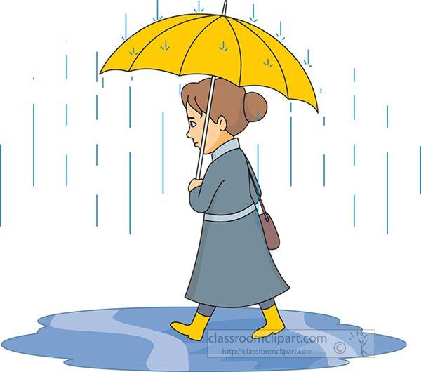 Weather : woman-walking-in-rain-holding-umbrella-clipart-59816 ...