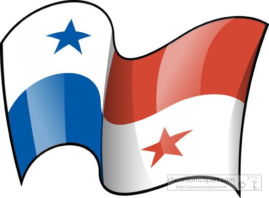 Free World Flags Clipart Clip Art Pictures Graphics - Panama flags