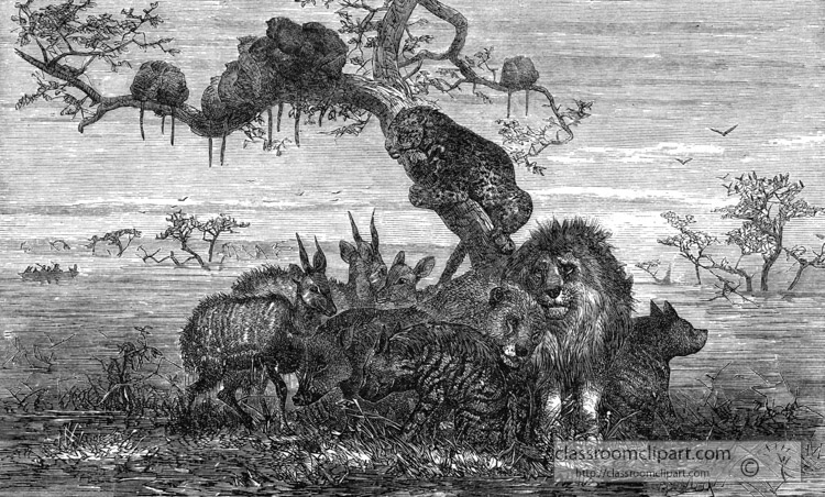 effect-of-a-long-rain-in-africa-animals-seeking-safety-historical-illustration-africa.jpg