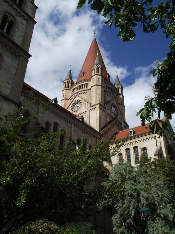The-Church-of-St-Francis-of-Assisi-in-Vienna-also-called-the-Jubilee-Church--was-constructed-to-celebrate-the-Golden-Jubilee-of-Emperor-Franz-Joseph.jpg