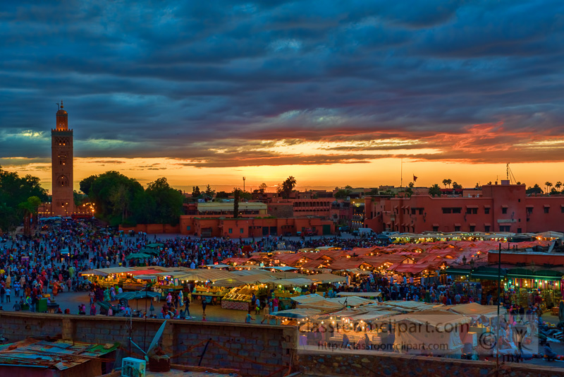 Djamaa-El-Fnathe-main-square-in-Marrakesh-at-sunset-photo-image-6676E.jpg