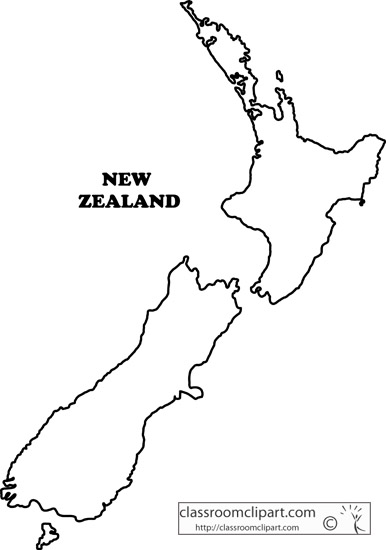 Divine image with printable map of new zealand