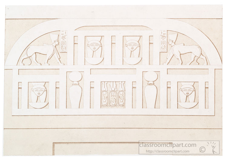 ancient-egypt-architecture-interior-door-crowns-3.jpg  sc 1 st  Classroom Clipart & Architecture Clipart- ancient-egypt-architecture-interior-door ...