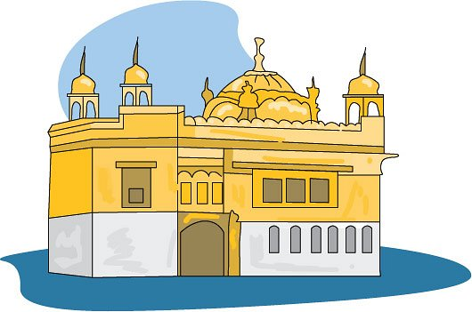 Ancient India Clipart GOLDEN TEMPLE